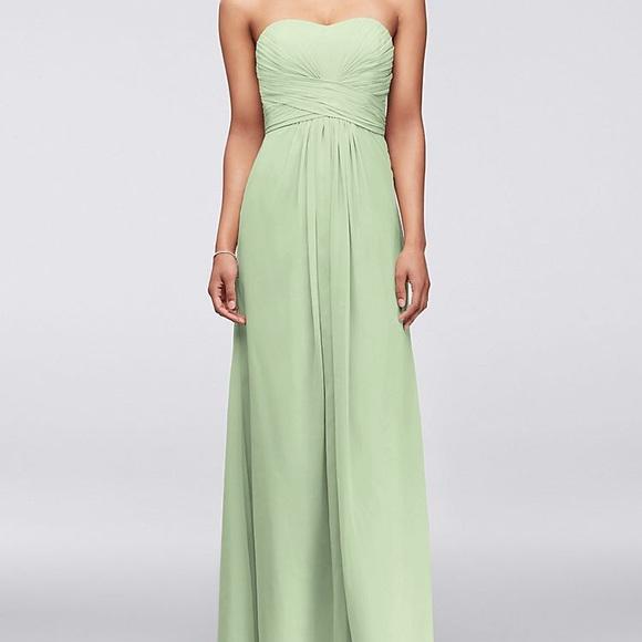 2d221ad25d2 David s Bridal Dresses   Skirts - David s bridal meadow green 22 fits like  ...